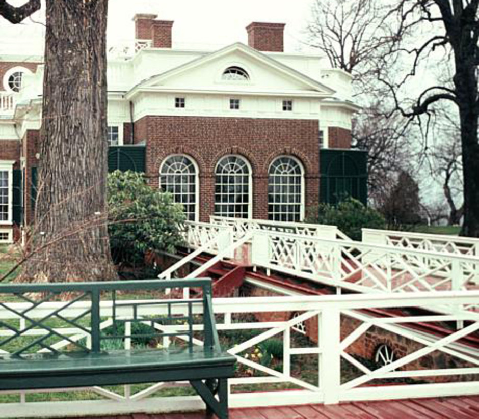 Detailing at Thomas Jefferson's Monticello