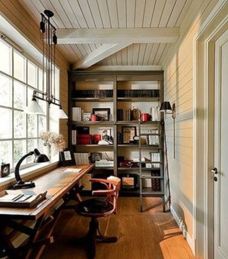 A Fabulous Home Office with Great Light
